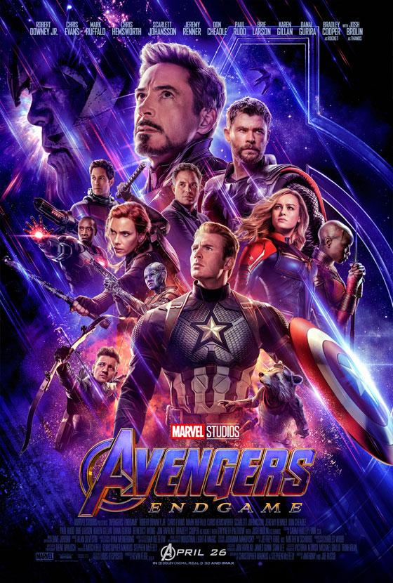 Marvel Studios' Avengers Endgame Movie Poster