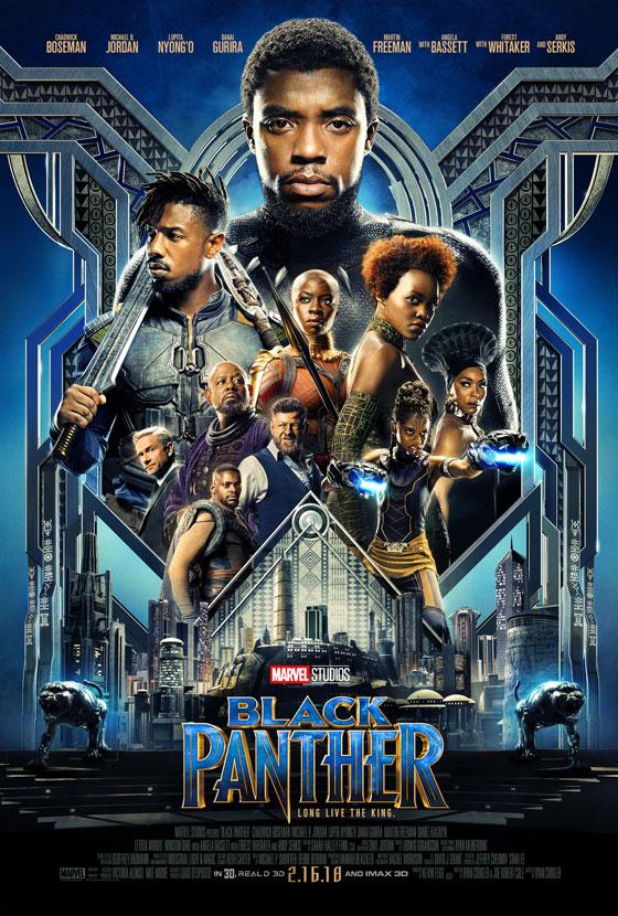 Marvel Studios' Black Panther Movie Poster